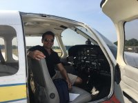 Trail flights in Synergy Flight Centre