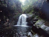 Abseiling Maentwrog Gorge