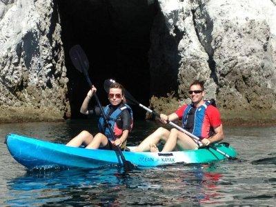 Kayak trip and snorkel in La Fabriquilla