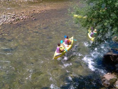 Canoeing down River Sella for CHILDREN, Asturias