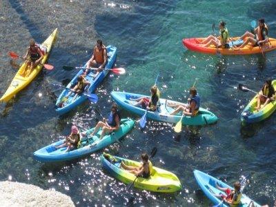 Kayak route + snorkling in La Polacra