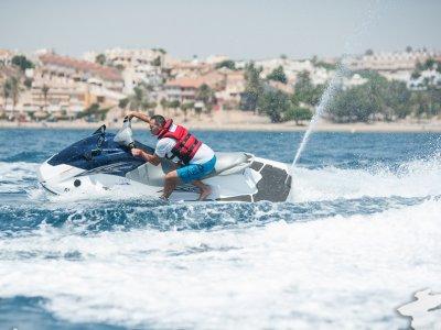 Jet ski in Mazarrón Port's circuit. 15 min