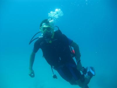 Scuba Diver PADI in Marbella