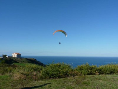 Paraglide Flight in Gijón for Couple + Video