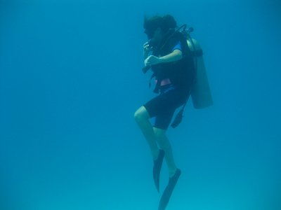 Diving in Marbella - Tank + Weight