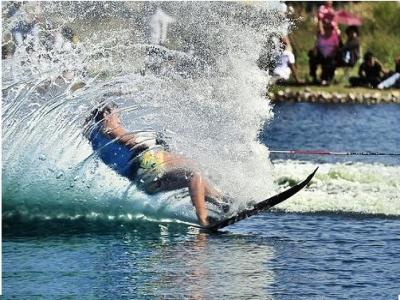 Water skiing in Marbella - 15 min