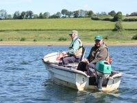 Boay fishing at Wimbleball