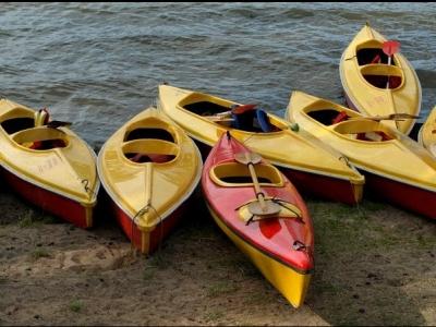 Two-seater kayak rental in Marbella 1 hour