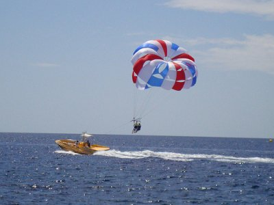 Parasailing for two in Marbella 15 minutes