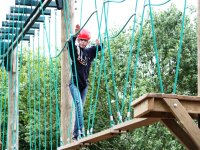 Highropes course crossing
