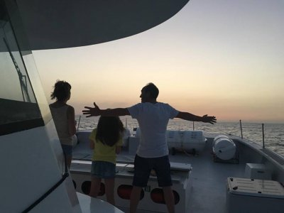 Boat trip on a sailing boat, Calpe, children fee