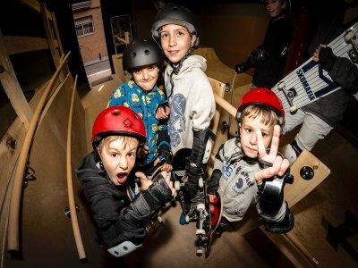 50Project  Indoor Skatepark Madri d