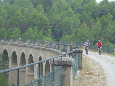Rail trail. Bike riding. Kayak ride