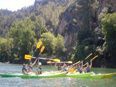 Canoeing + Caving pack, Benifallets