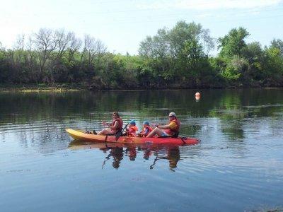 Canoeing from Mora de Ebro to Miravet - 2h 30m