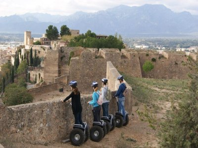 Segway tour + Caving session in Benifallets.