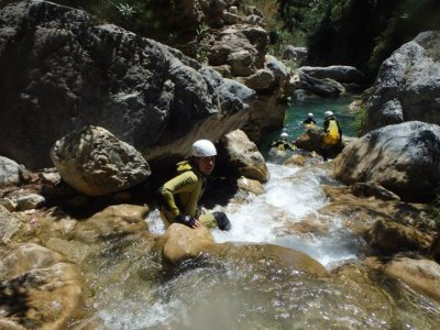 Canyoning in Verde River - half - 3h 30min