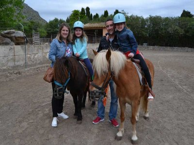 Farm Tour and 1 hour Pony Riding route for Adults
