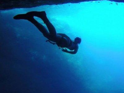 Climbing trekking and snorkel Cueva de la Luz 6 h