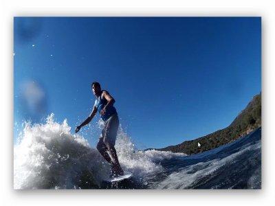Wakesurfing Session, Pelayos de la Presa, 20m
