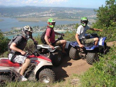 Single-seating quad tour in Cerdanya 1h