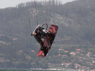 2-day kitesurf course for beginners in O Grove