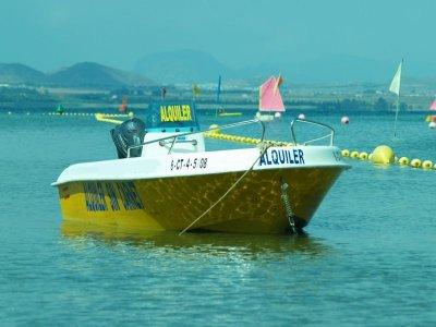 Boat rental, no license required, La Manga, 4 hrs