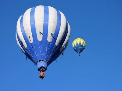 Hot air balloon and romantic dinner, Granada