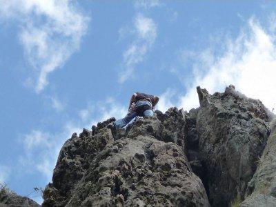 Climbing in Cisterna 1 hour