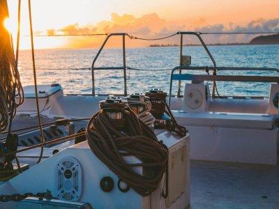Sailboat trip in Costa Tropical Granada and lunch