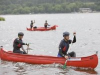 Canadian open boat canoes