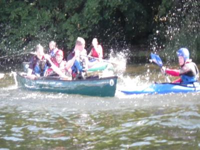 Half day Kayaking in Yorkshire Dales