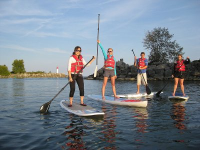 East Barnby Outdoor Centre Paddle Boarding