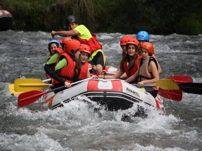 White Water Rafting, Noguera River, Schools