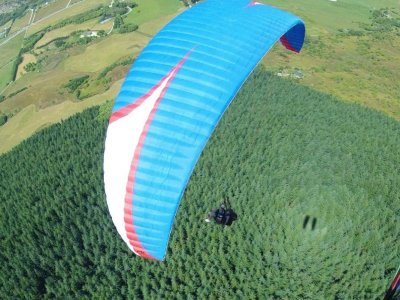 Intermediate level paragliding,Algodonales,1 hour