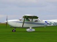 Light aircraft at Devon & Somerset Flight Training