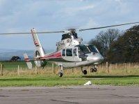 Helicopters at  Devon & Somerset Flight Training