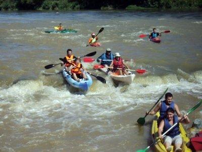 Stag/hen do: kayaking in Cinca River