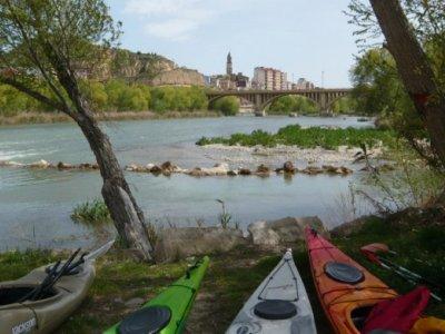 Kayak route, Flix meander, school groups
