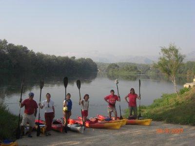 Orienteering, archery and canoe for achoolchildren