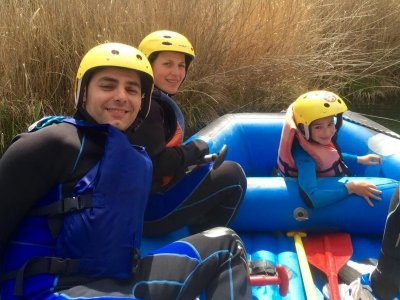 Rafting out-of-school activity in Guadiela