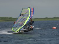 Windsurfing at high speeds