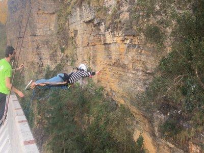 Bungee Jumping in Ondarroa Vizcaya 40 meters