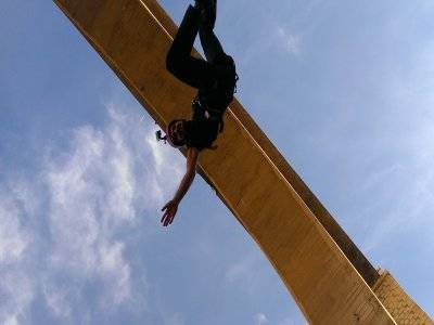Bungee jumping in Agost, Alicante, with video