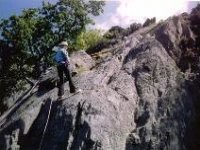 Exciting abseiling