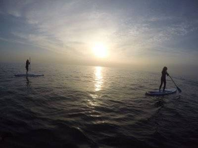 Personalized Paddle Surf sessions Barceloneta
