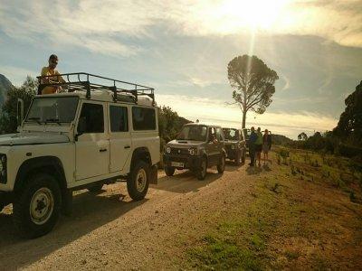 Jeep safari and kayaking in Sierra de las Nieves