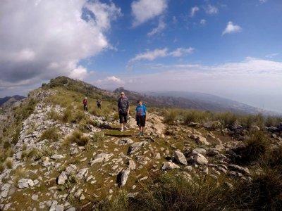 Hiking in groups around Marbella