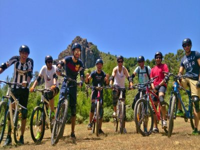 Mountain Bike descent in Sierra de las Nieves