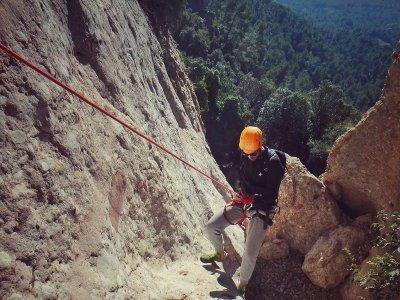 Dry Canyon of Roca del Corb in Oliana